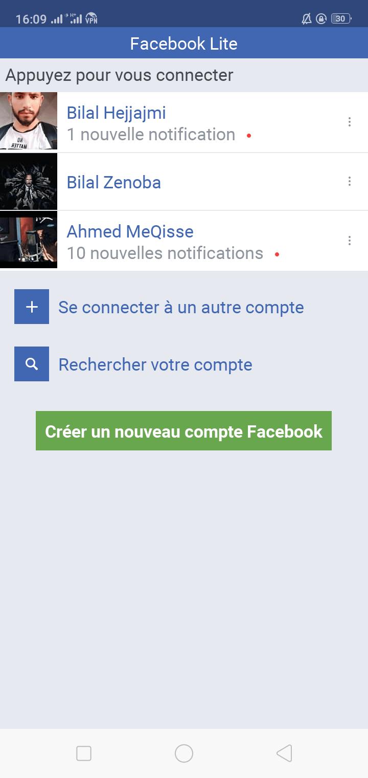 تنزيل فيسبوك لايت القديم Facebook Lite برابط مباشر