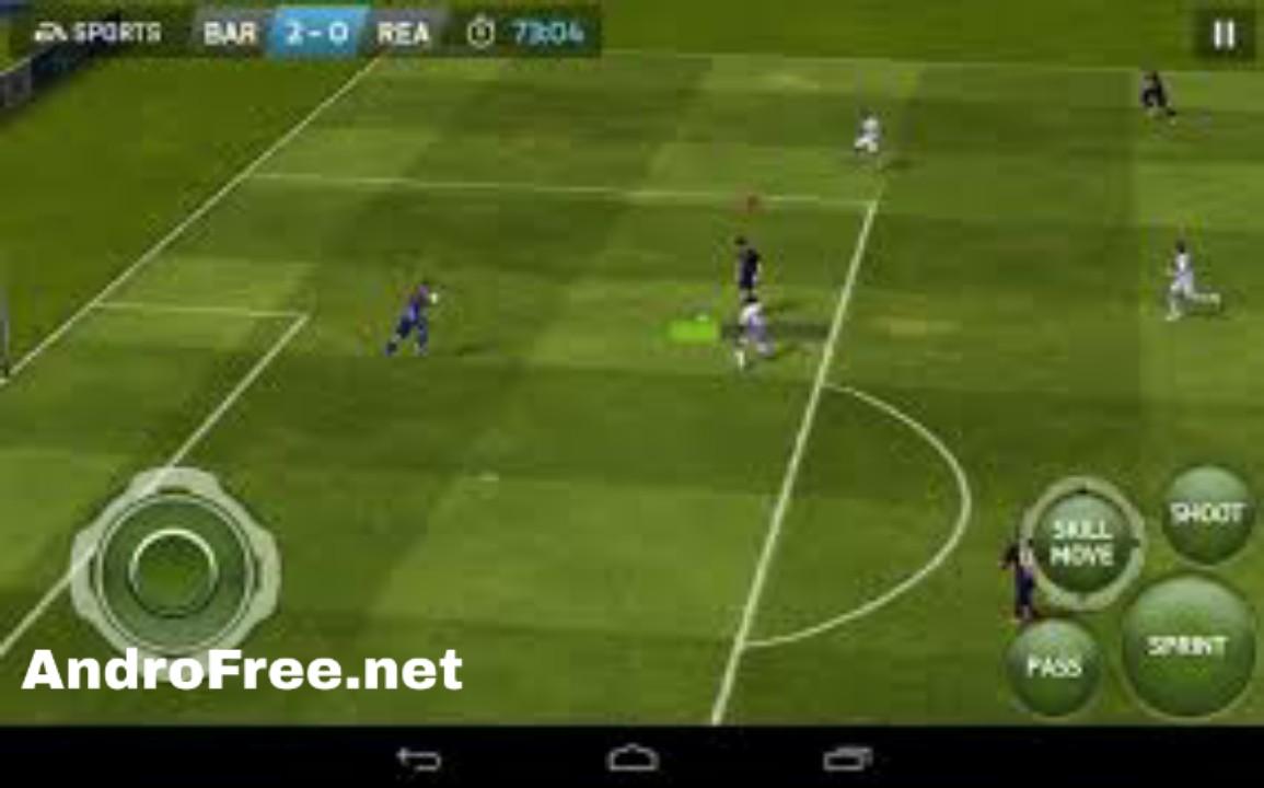تحميل لعبة فيفا FIFA 14 للأندرويد برابط مباشر