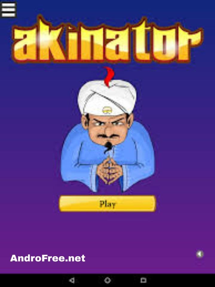 تحميل لعبة الجني الازرق الحقيقية Akinator للأندرويد