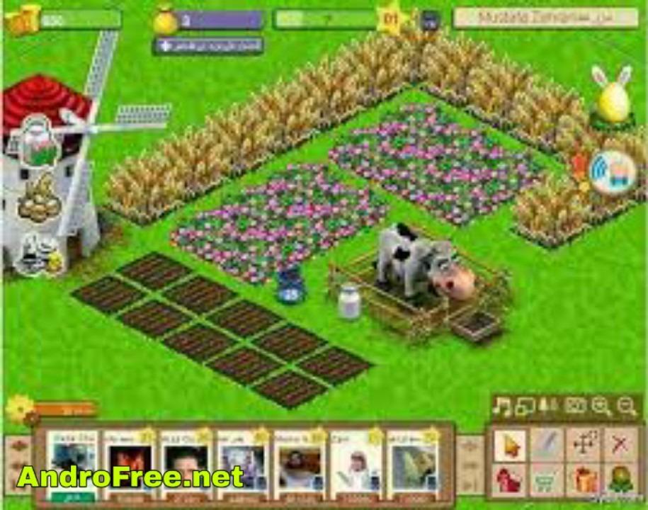 تحميل لعبة المزرعة السعيدة مهكرة للأندرويد
