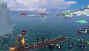 تحميل لعبة البوارج World Of Warships Blitz مهكرة من ميديا فاير