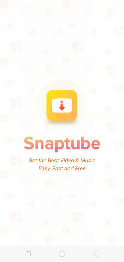 تنزيل سناب تيوب Snaptube جودة عالية بدون إعلانات للأندرويد