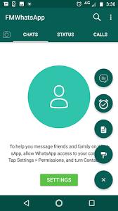 تنزيل اف ام واتساب FM Whatsapp للأندرويد اخر إصدار ضد الحظر