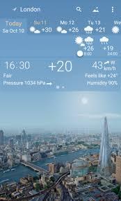 تحميل برنامج YoWindow Weather لمعرفة أحوال الطقس للأندرويد [2020]