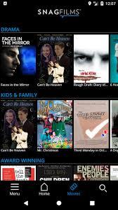 تحميل برنامج مشاهدة الأفلام و المسلسلات Snagflims للأندرويد برابط مباشر