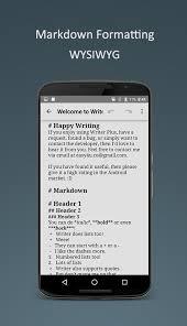 تحميل تطبيق Writer Plus للأندرويد برابط مباشر مجاناً