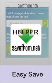 تحميل SaveFrom لتنزيل الفيديوهات من اليوتيوب download from YouTube للأندرويد