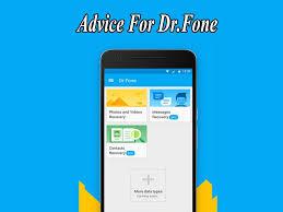 تحميل Dr.fone — برنامج دكتور فون لنظام أندرويد