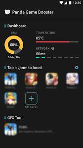 تحميل برنامج Panda Game Booster مجاناً للأندرويد