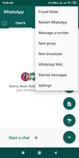 تحميل واتساب فؤاد Whatsapp Fouad 8.45 ضد الحظر [2021]