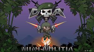 تحميل لعبة ميني ميليشيا Mini Militia 2 للأندرويد