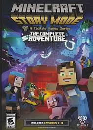 تحميل ماينكرافت: ستوري مود Minecraft Story Mode مهكرة