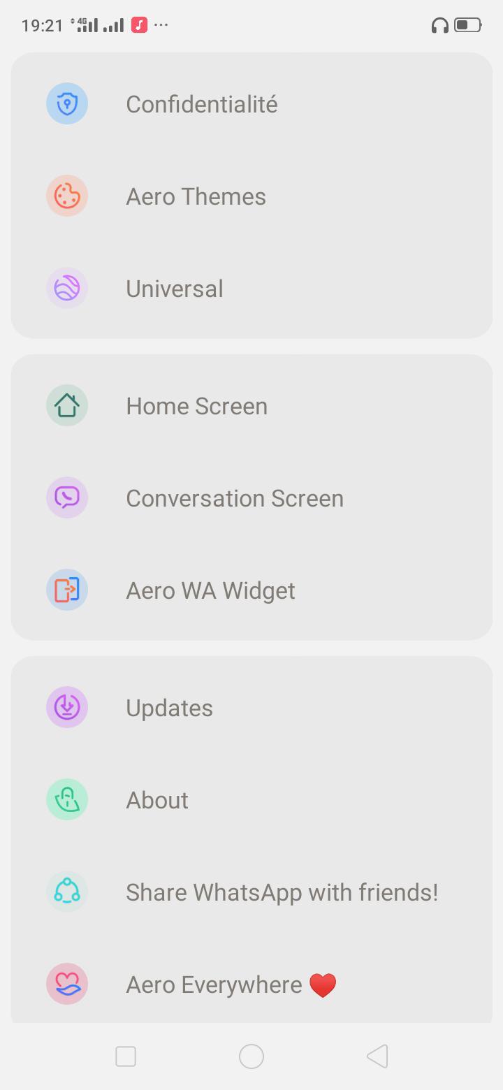 تحميل واتساب ايرو WhatsApp Aero 8.70 اخر اصدار [واتس ايرو]
