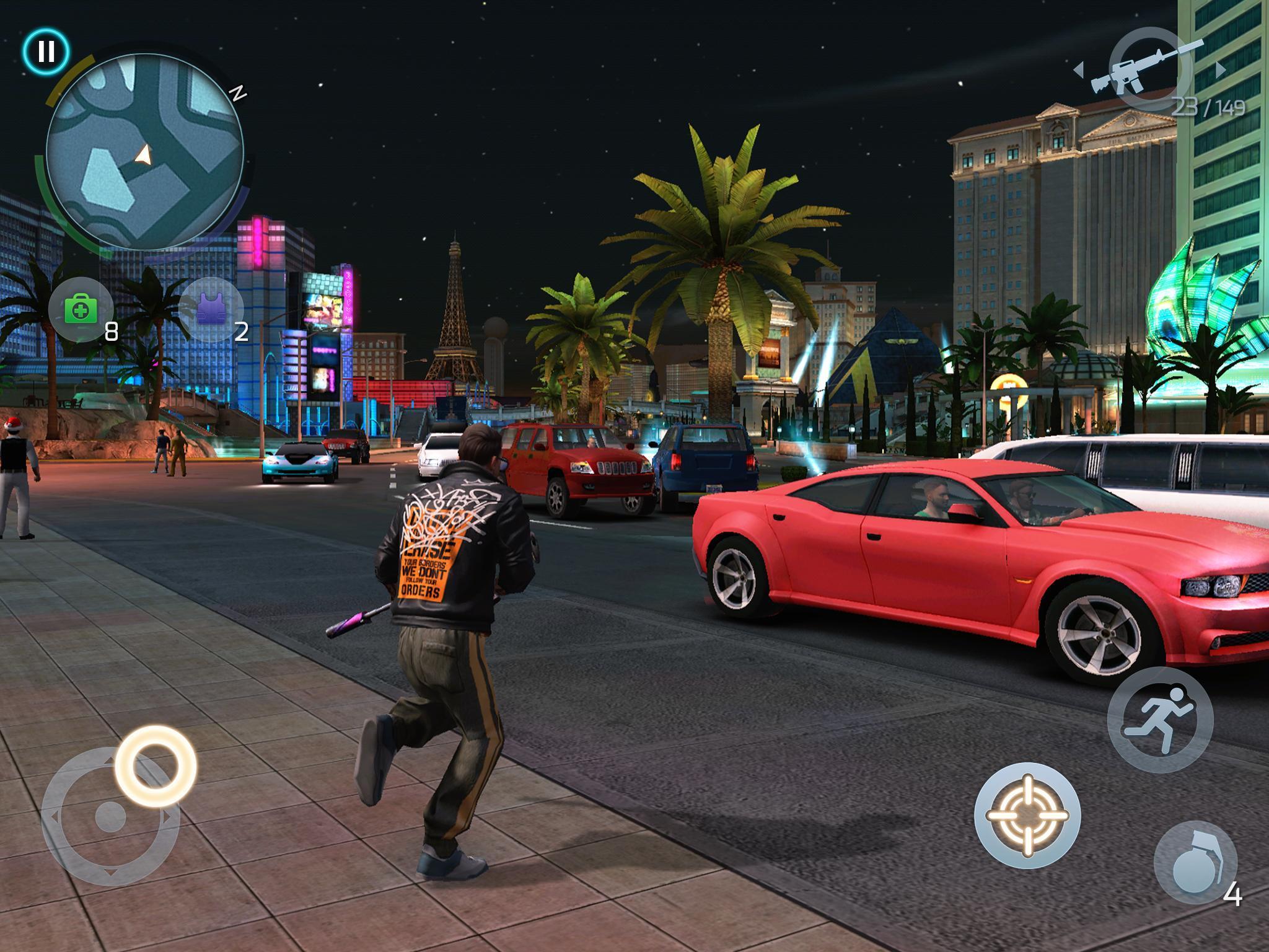 تحميل لعبة gangstar vegas مهكرة