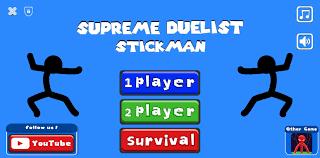 تحميل لعبة Supreme Duelist Stickman مهكرة للأندرويد
