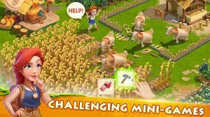 تحميل لعبة Family Farm Adventure 1.4.211 مهكرة للأندرويد