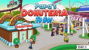 لعبة Papa's Donuteria To Go مهكرة برابط مباشر